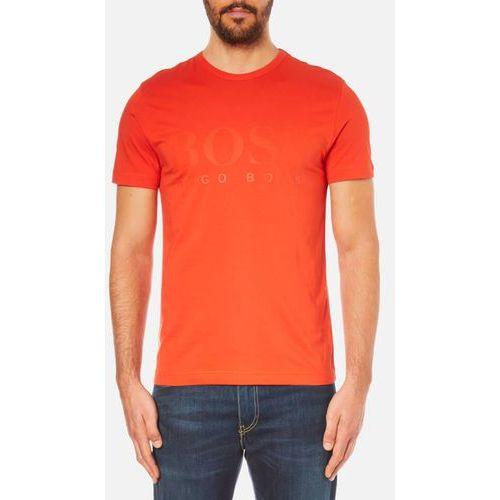 BOSS Green Men's Tee US Tonal Logo T-Shirt - Orange - L ()