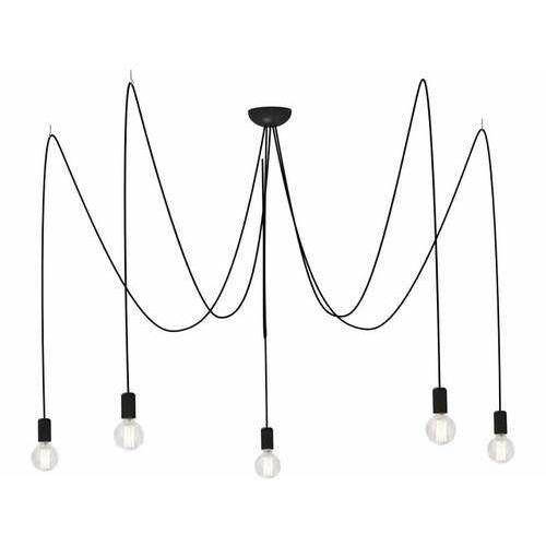Lampa wisząca Nowodvorski Spider 6788 pająk zwis 5x60W E27 czarna + żarówka LED za 1 zł GRATIS! (5903139678896)