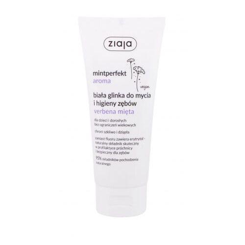 Ziaja Mintperfect Aroma White Clay Verbena & Mint pasta do zębów 100 ml unisex (5901887051060)