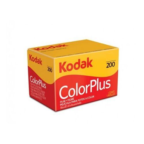 Kodak color+ 200/24 negatyw film kolorowy typ 135