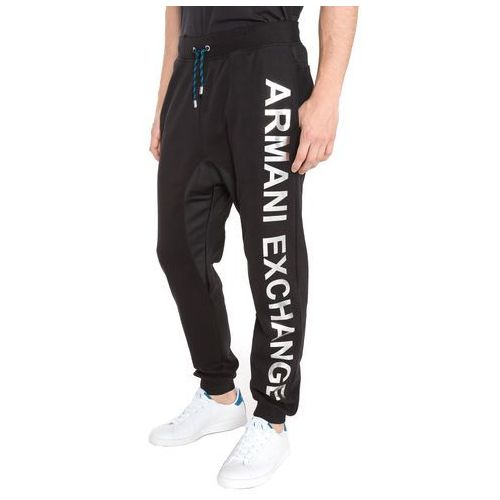 Armani exchange spodnie dresowe czarny xl