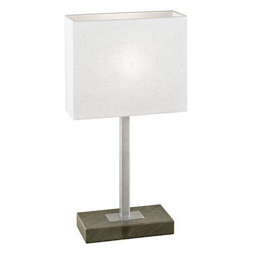 Lampa stołowa Eglo Pueblo 1 87599 lampka oprawa 1x60W E14 antyczny brąz/ biały, 87599