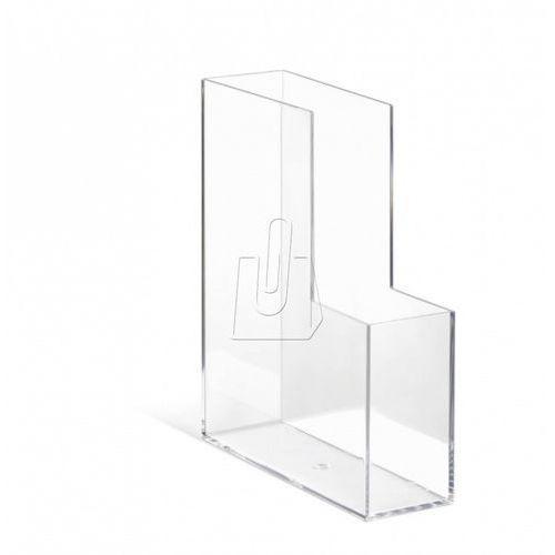 Pojemnik na katalogi Durable Cubo transparent 7727-19