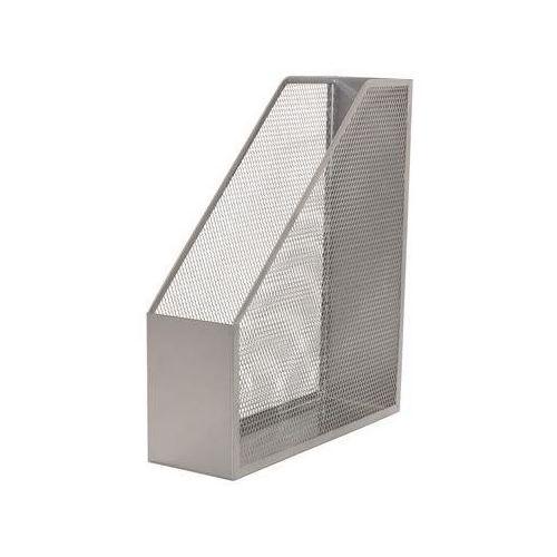 Pojemnik na dokumenty Q-CONNECT Office Set, metalowy, srebrny