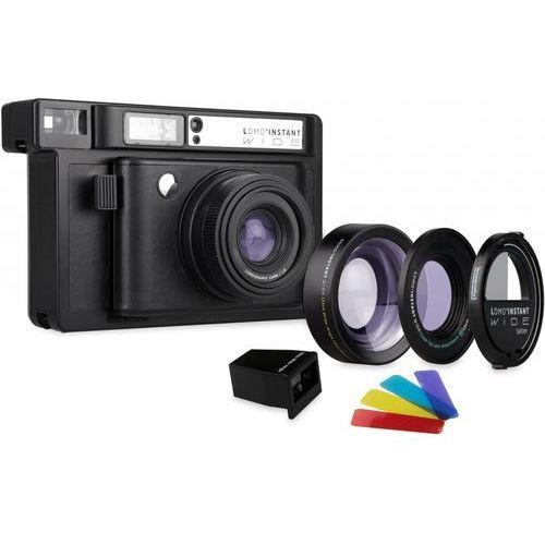 lomo instant wide black + 3 obiektywy marki Lomography