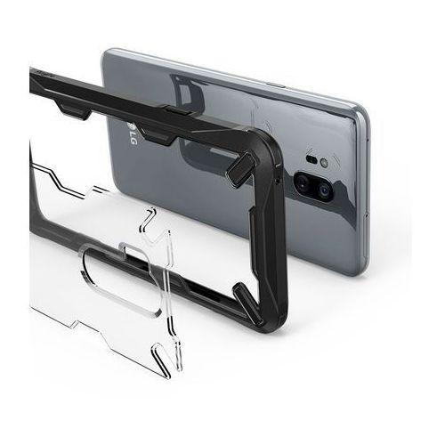 Etui Ringke Fusion-X do LG G7 ThinQ Black (8809611500303)