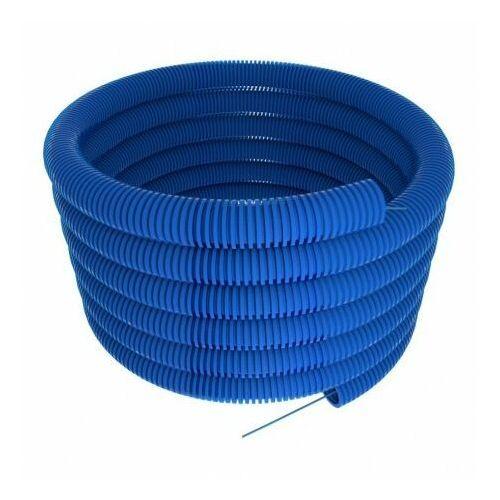 Rura osłonowa karbowana 40 niebieska 25m TT Plast