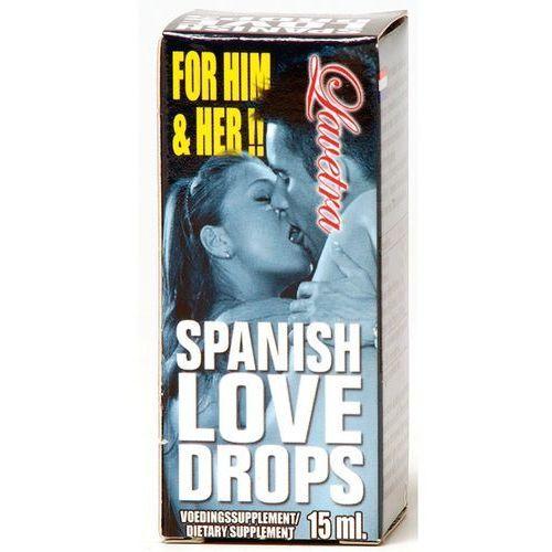 Hiszpańska Krople Miłości - dla Niej i dla Niego 15ml | 100% DYSKRECJI | BEZPIECZNE ZAKUPY (8718546540639)