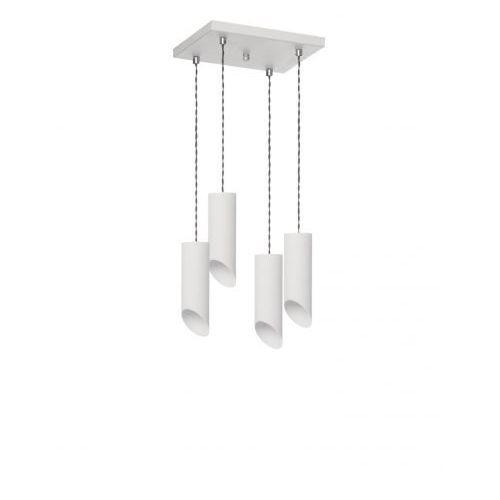 Lampa wisząca Skos 4 biała Producent Lampex, LAMP 587/4 BIA