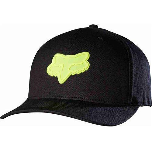 czapka z daszkiem FOX - Emergency 110 Snapback Black/Yellow (019) rozmiar: OS, kolor żółty