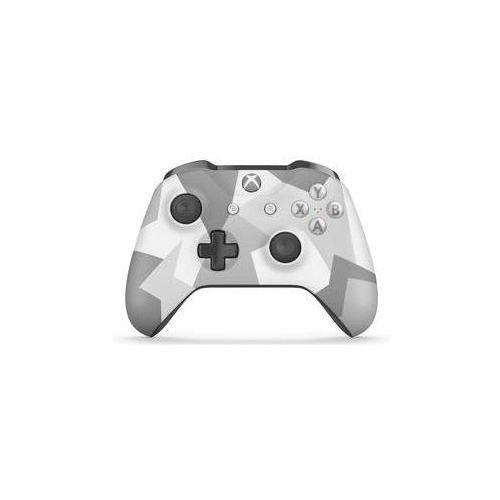 Microsoft Gamepad  xbox one s wireless - biały / szare maskowanie (wl3-00044)