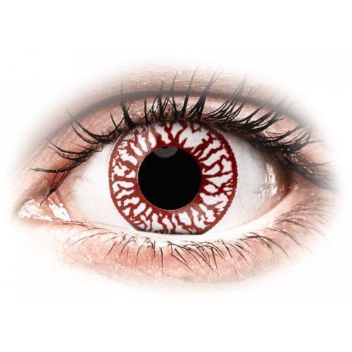 Maxvue vision Colourvue crazy lens - blood shot - jednodniowe zerówki (2 soczewki)