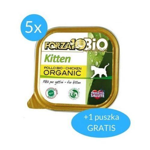 Forza10 every day dla kota 5x100g + 100g gratis (600g): smak - kitten kurczak dostawa 24h gratis od 99zł