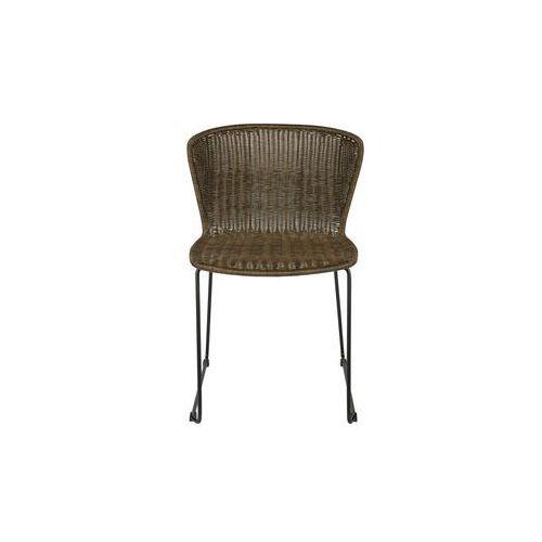 Woood Krzesło WINGS ciemnobrązowe (2 szt) - Woood 378616-B, kolor brązowy