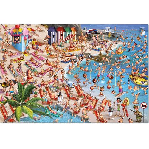Puzzle 1000 Piatnik Ryuer Plaża - Piatnik DARMOWA DOSTAWA KIOSK RUCHU, 75014502853GR (4724719)