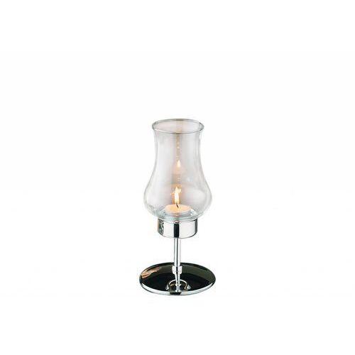 Aps Świecznik tealight - chromowany | 2 rozmiary
