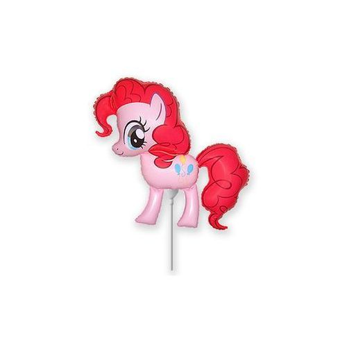 Balon foliowy do patyka my little pony - pinkie pie - 37 cm marki Flx