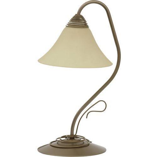 Lampa stołowa Nowodvorski Victoria 2995 lampka 1x60W E27 złoty mat, 2995