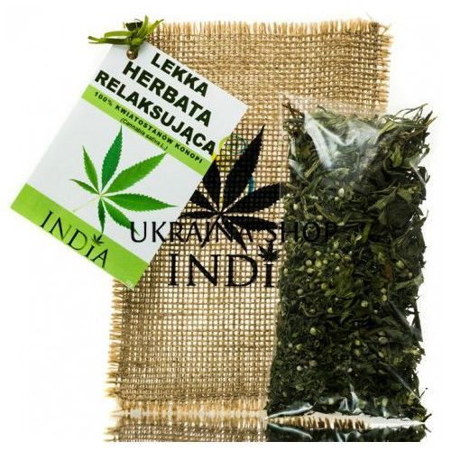 Lekka Ziołowa Herbata Relaksująca, India Cosmetics