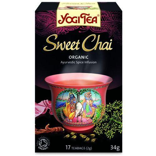 Yogi tea, usa Herbata słodkie chai bio (yogi tea) 17 saszetek po 2g