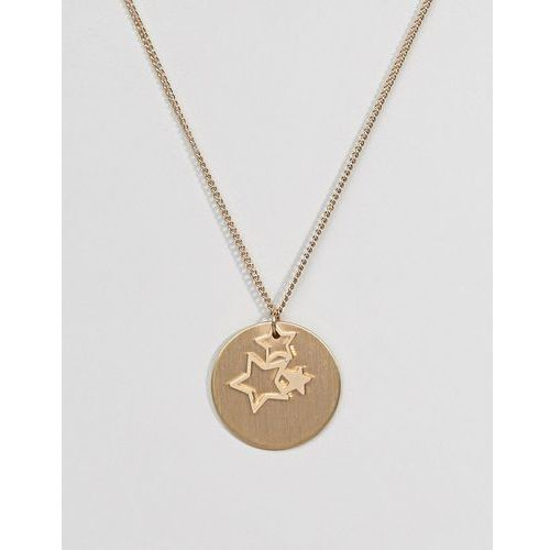 Pieces Gold Star Trio Necklace - Gold