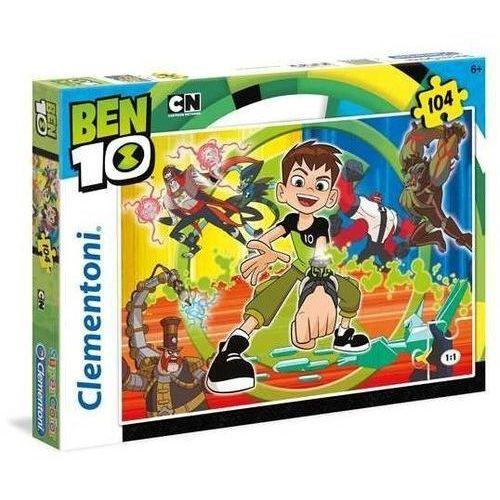 104 elementy Super Kolor Ben 10