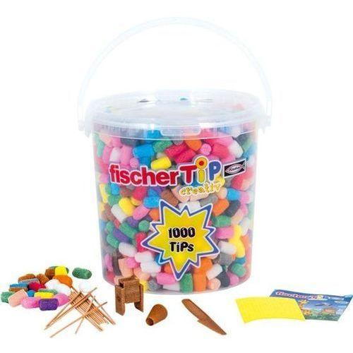 Fischer tip 1000 - kreatywna zabawka dla dzieci,chrupki kukurydziane do zabawy marki Small foot design