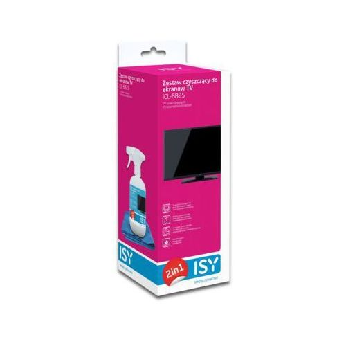 Zestaw czyszczący do ekranów TV ISY ICL-6825 (4049011151987)