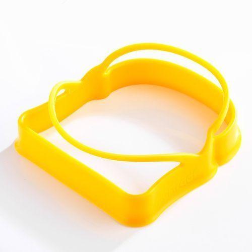 Mastrad - foremki silikonowe do jajek w kształcie tostów - zestaw (2 sztuki)