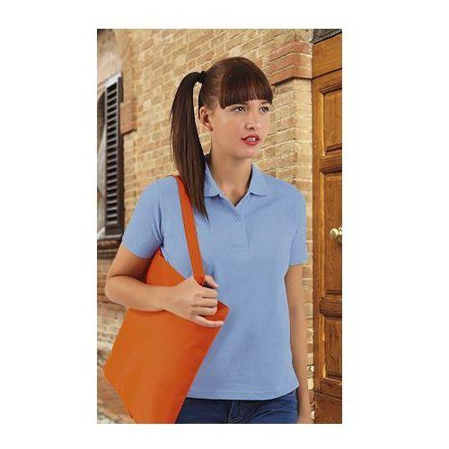 Koszulka Polo damska krótki rękaw Valley VALENTO polówka damska xxl czarny, kolor czarny