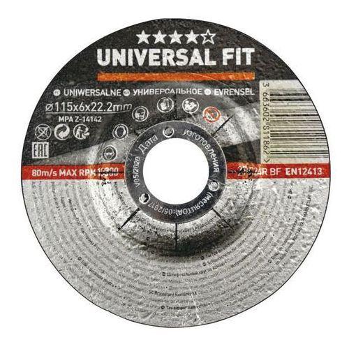 Universal Tarcza do szlifowania betonu 115 x 6 mm