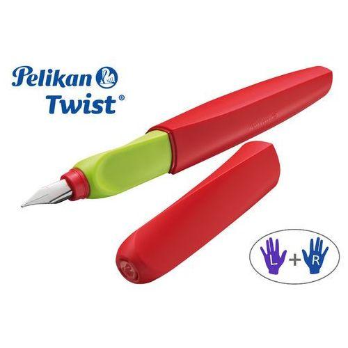 Pelikan Pióro wieczne twist czerwone (4012700012326)