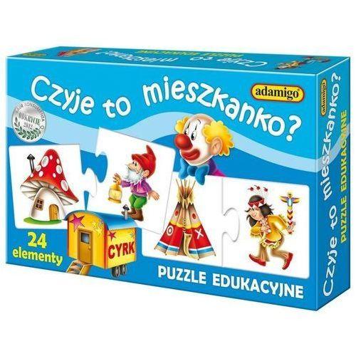 ADAMIGO Ukł. Puzzle Czyje to mieszkanko?, AM_5902410006656