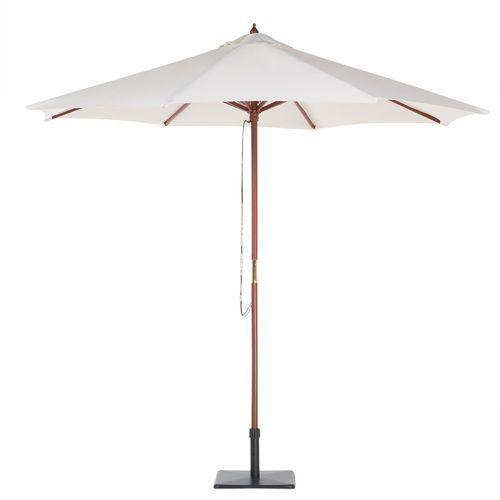 Beliani Parasol ogrodowy Ø270 cm beżowy toscana