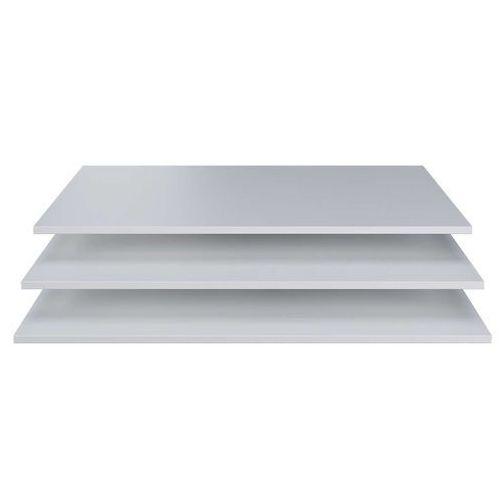 Woood Dodatkowe półki do szafy Brynn białe [fsc] 373239-W