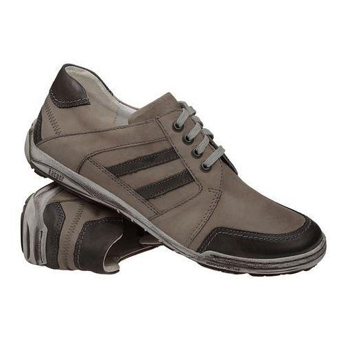 Półbuty sznurowane buty 1-4201-670 marki Kacper