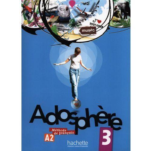 Adosphere 3 Podręcznik Ucznia Z Płytą Cd, oprawa miękka