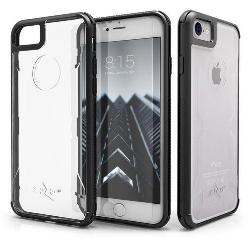 Zizo Pik Case Etui Obudowa iPhone 8 / 7 (Black) + Szkło Hartowane Na Ekran, kolor czarny