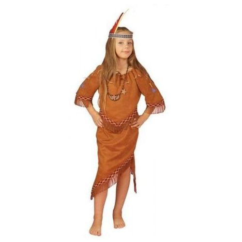 Strój Indianka ze Spódnicą - przebranie dla dzieci - 110 - 116 cm