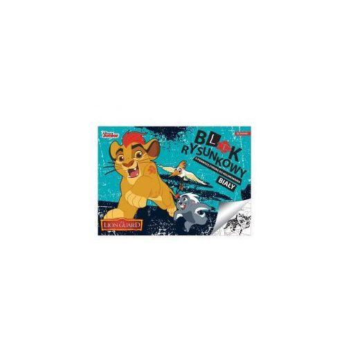 Blok rysunkowy a4 lwia straż biały 20 kartek marki Paso