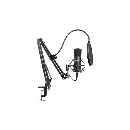 Sandberg streamer usb microphone kit - czarny