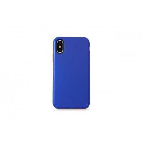 Kmp sporty case do iphone x niebiesko-pomarańczowe