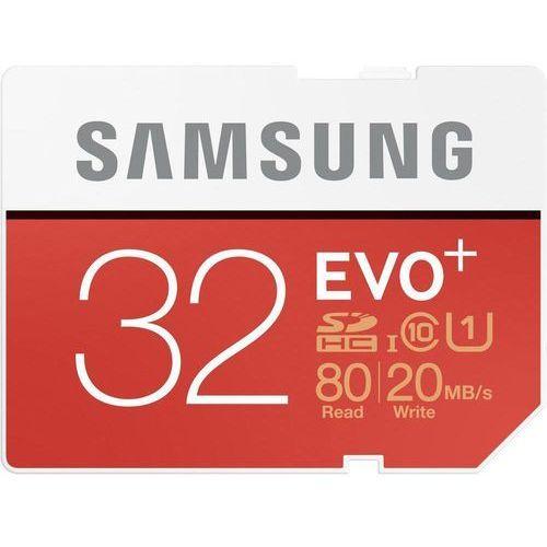 Samsung MB-SC32D/EU 32GB EVO+ SD DARMOWA DOSTAWA DO 400 SALONÓW !! (8806086928601)
