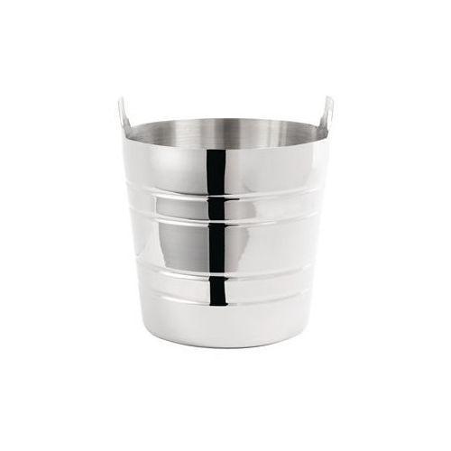 Cooler do wina ze stali nierdzewnej | z uchwytami | śr.204x(H)190mm