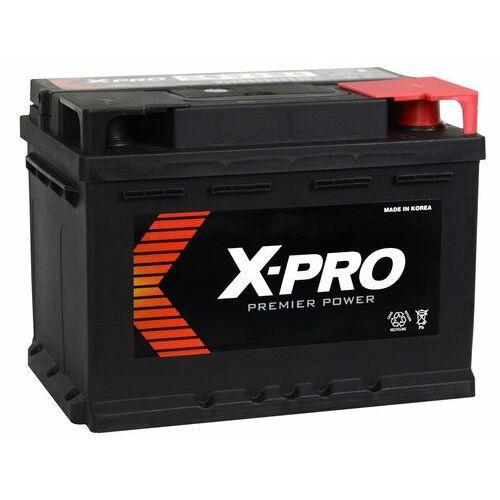 Dtr Akumulator x-pro 60ah 540a en niski prawy plus