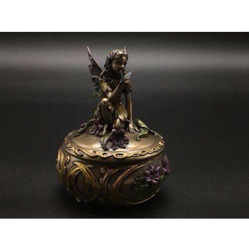 Secesyjna szkatułka z elfikiem wu70670a4 marki Veronese