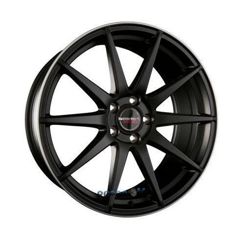 BORBET GTX Black Rim Polished Matt Einteilig 9.50 x 19 ET 40