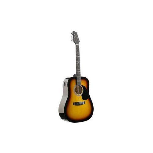 Stagg SW-201 SB VT - gitara elektro-akustyczna, 6B10-55737