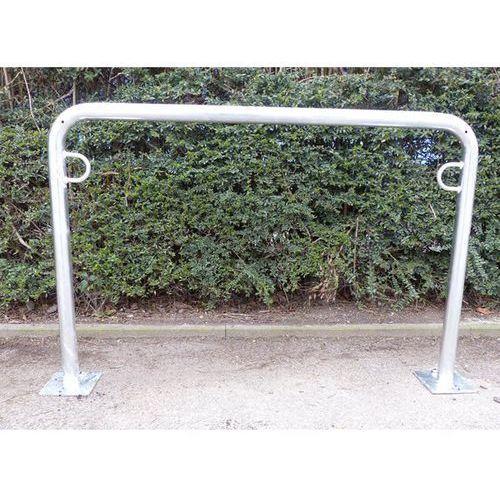 Pałąk wsporczy do rowerów, wys. 850 mm ponad podłożem, do zakotwienia, ocynkowan marki Melzer metallbau gmbh & co. kg