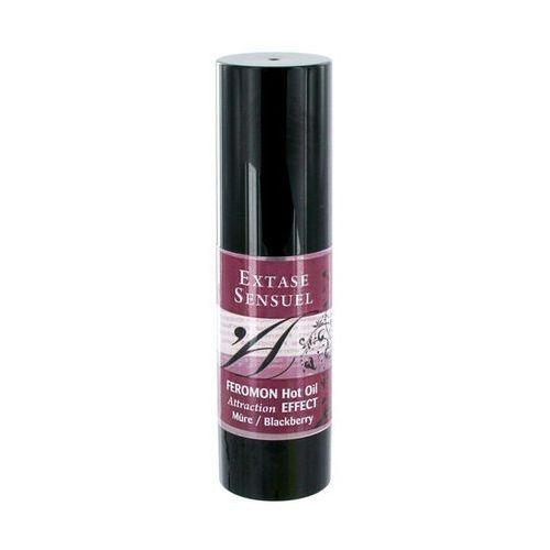 Olejek z feromonami - hot oil blackberry marki Extase sensuel